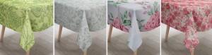 Medvilninės staltiesės